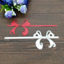 Bow Metal Cutting Dies Stencil Scrapbooking Paper Card Embossing Craft Decor DIY