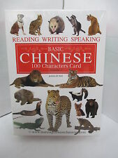 BASIC CHINESE 100 CHARACTERS CARD VOLUME 2: READING WRITING SPEAKING FLASHCARDS