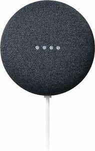 Google Nest Mini (2nd Generation) Smart Speaker with Google Assistant - Charcoal