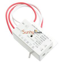 220V Delay Human Body Motion Detector Microwave Radar Sensor Switch Security