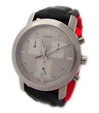 Votum swiss made Chronograph Herrenuhr schwarz silber saphier glas mens watch
