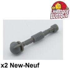 Lego - 2x minifig arme weapon spectre roi king gris f/dark b gray 94158d NEUF