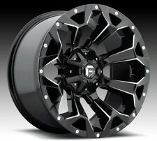 Fuel Assault 20x9 5x5.5/5x150 ET20 Gloss Black Wheel (1)
