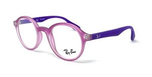 New Authentic Girls RayBan RXable Eyeglasses Frames RB1561 3672 Pink Purple 41mm