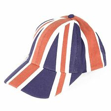 Union Jack Printed Baseball Cap