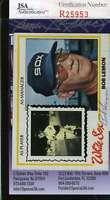 Bob Lemon 1978 Topps Jsa Coa Hand Signed Authentic Autographed Yankees