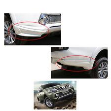 Mitsubishi L200 Triton Plus 2015 2016 2017 Fits Skirt Side Corner White 4 Pc