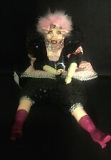 Katherine's Collection Wayne Kleski Retired Glamorous Pig Bean Doll NOS Pink 12""