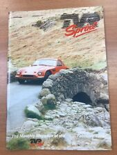 TVR Car Club Sprint Magazine February 1998 Issue No 266 Vixen S2