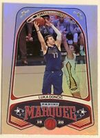 2019-20 Panini Chronicles #254 Luka Doncic Marquee SILVER 2nd Year in NBA Mint!