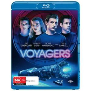 VOYAGERS BLU-RAY, NEW & SEALED ** NEW RELEASE ** 040821, FREE POST