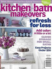 Kitchen And Bath Makeovers Magazine Color Small Storage Easy Budget Projects