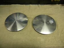 1997 - 2003 Buick Park Ave / LeSabre  Wheel Center Caps --  1 pair -- Silver