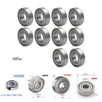 10Pcs Roulement à Billes 608ZZ/623ZZ/625ZZ/626ZZ Miniature Ball Bearing
