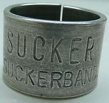 2 original SUCKER GOOSE leg band bands duck funny! hunt Sucker Band