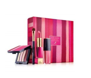 Estee Lauder Powerful Pink Color Collection Limited Gift 4pc Set