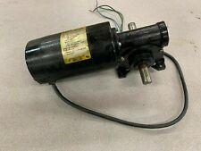 USED BALDOR 1/5HP DC GEAR MOTOR GP7408 SPEC. 696H