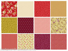 12 F/Q bundle Peyton Place by Nancy Gere LAST STOCK.! quilting fabric