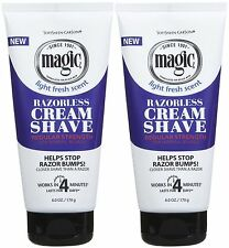 X 2 Magic Hair Removal & Shaving Cream *REGULAR Strength* SPECIAL OFFER Save£££