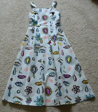 BOUTIQUE MOSCHINO  Printed Long Dress Size US 2