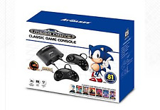 Sega Mega Drive Classic Game Console With 80 Games and Wireless Controllers