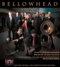 BELLOWHEAD: LIVE AT THE SHEPHERDS BUSH EMPIRE Movie POSTER 20x20