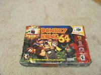 Donkey Kong 64 (Nintendo 64, 1999) N64 Authentic Complete - CIB w/Expansion Pak