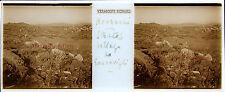 Stratos Στράτος Grèce Stereo Félix Sartiaux 45x107mm Plaque pos ca 1911