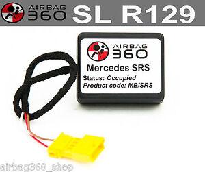 SL R129 Front Passenger Seat mat occupancy occupied recognition sensor bypass