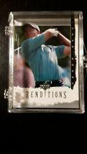 2003 Upper Deck RENDITIONS Golf Complete 60 Card Set Tiger Woods Arnold Palmer +