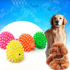 Pop Squeaker Ball Toy Hedgehog Shape Pet Dog Puppy Squeaky Chew Toy Supplies New