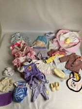 Baby Doll Small Doll Clothes Lot 34
