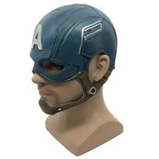 Us Ship Captain America Mask Superhero Halloween Mask Dc Movie Latex Mask Cosp