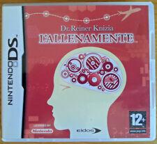 gioco L'ALLENAMENTE Dr. Reiner Knizia Nintendo DS custodia e manuali italiano
