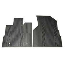 Black Premium All Weather Front Floor Mats 2010-16 Chevrolet Equinox GM 22832327