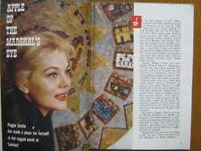 1960 TV Guide (PEGGIE  CASTLE/DARREN McGAVIN/RAY MILLAND/RIVERBOAT/DIANE McBANE)