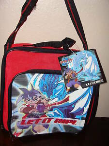 NEW WITH TAGS BEYBLADE BAG RED