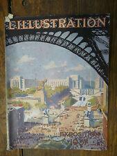 L'illustration 4917 Exposition internationale universelle  29 mai 1937  Paris