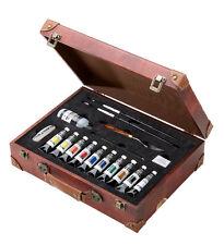 Winsor & newton artists couleur acrylique qualité ensemble de peinture valise