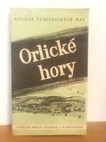 Orlické hory Adlergebirge - alte Landkarte MAP CSSR 1:100 000 - 1. Auflage 1959