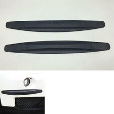 2x Universal Car Carbon Fiber Anti Scratch Rub Protector Strips Bar Bumper Guard