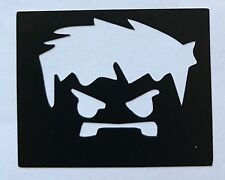5 superhéroe Hulk Stencils Recarga Kit de Tatuaje Brillo Ur Cara Pintura Aerógrafo