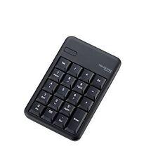 ELECOM Ten Bluetooth keyboard membrane Ruggedized TK-TBM016BK Black from Japan