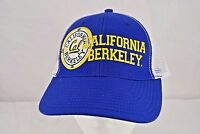 Cal Golden Bears White/Blue Trucker Style Baseball Cap Snapback