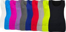 Camisas y tops de mujer sin marca 100% algodón sin mangas