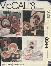 McCall's Yours Truly pattern 8344 Set of Picture Frames uncut