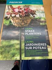 PANACEA PRODUCTS CORP-IMPORT Stake Planters, 69 x 10-In., 2-Pk. 88940