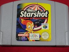 STARSHOT PANIQUE AU SPACE CIRCUS NINTENDO 64 STARSHOT N64 STAR SHOT