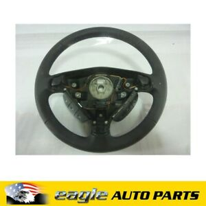 HOLDEN ASTRA TS TS02 TS05 STEERING WHEEL LEATHER # 13126583