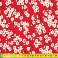 Made In Japan Sakura cotton fabric craft quilting cotton fat quarter FQ #F0039